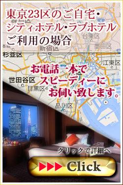 東京23区のご自宅・シティホテル・ラブホテルご利用の場合